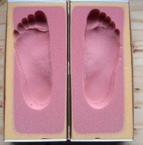 semelles thermomoulées thermoformées pieds plats
